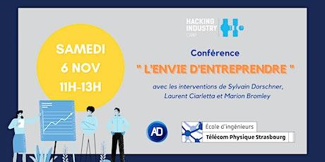 """Conférence """"L'envie d'entreprendre"""" billets"""