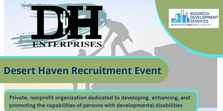 Desert Haven Recruitment Event- Nov 23 tickets