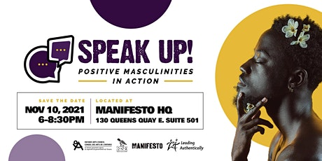 Speak Up! Positive Masculinities in Action tickets