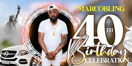Marco 40th birthday celebration tickets