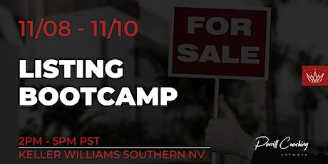 Listing Bootcamp ( 3 Day Event) tickets