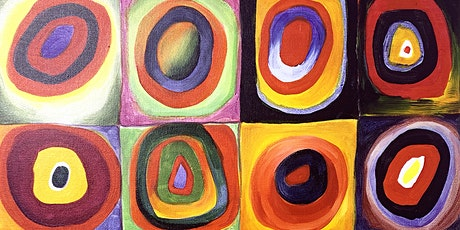 Artist Workshop: Kandinsky Concentric Circles Collage tickets