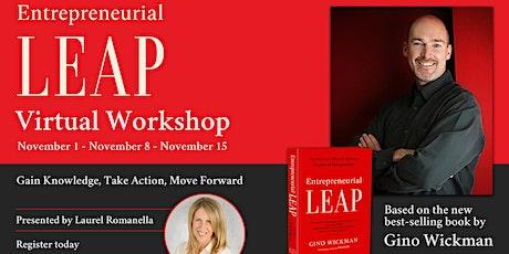 Entrepreneurial Leap - Virtual Workshop - 1st Session tickets