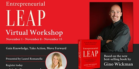 Entrepreneurial Leap - Virtual Workshop - 3rd Session tickets