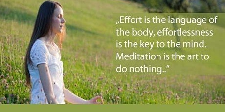 Meditation and Silence-An introduction to next steps after SKY Program tickets