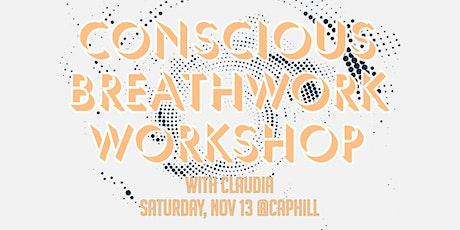 Conscious Breathwork at Black Swan Yoga! tickets