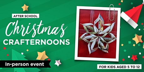 After School Christmas Crafternoons tickets