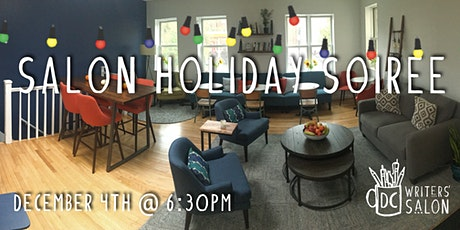 DC Writers' Salon: Holiday Soiree tickets