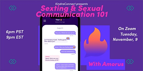 Sexting & Sexual Communication 101 tickets
