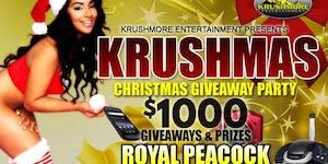 KRUSHMAS - $1000 CHRISTMAS GIVEAWAY