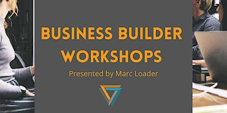 Business Builder workshops tickets