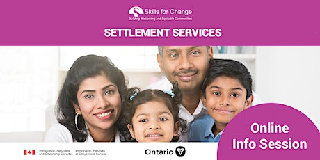 *Online information session by Toronto Public Library tickets