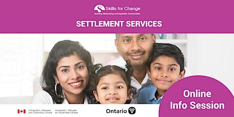 *Ontario Newcomer Trades Action Program tickets