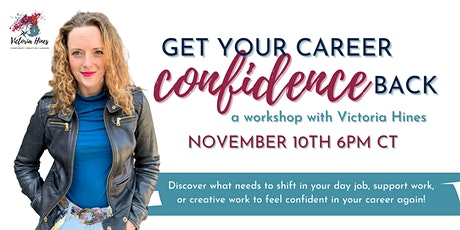 Get Your Career Confidence Back tickets