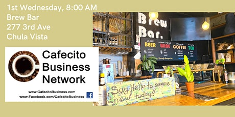 Cafecito Business Networking, Chula Vista 1st Wednesday November tickets