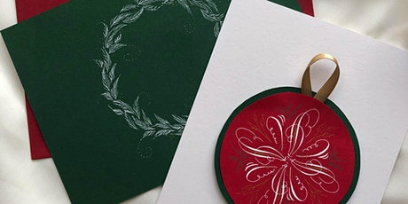 2021 Holiday Greetings Calligraphy Card Making Class tickets