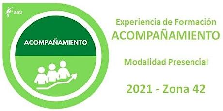 """Experiencia de Formación """"Acompañamiento"""" 2021 entradas"""