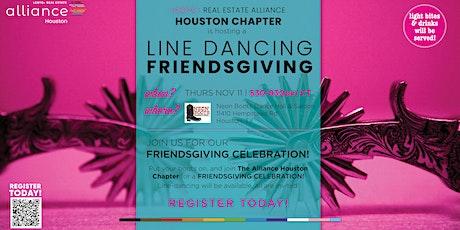 Line Dancing Friendsgiving | LGBTQ+ Real Estate Alliance Houston tickets