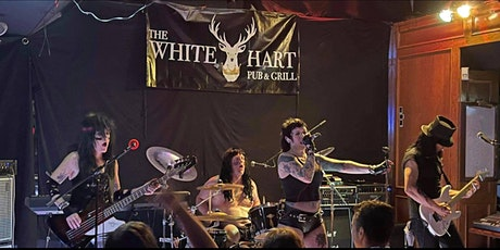 MOTLEY CRUE TRIBUTE 'LIVE WIRE' RETURNS TO WHITE HART PUBLIC HOUSE! tickets