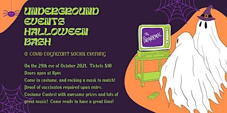 Underground Events Halloween Bash tickets