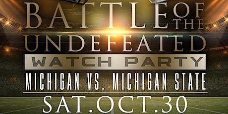 MICHIGAN VS. MICHIGAN STATE WATCH PARTY tickets