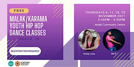 Malak/Karama Hip Hop Dance Classes tickets