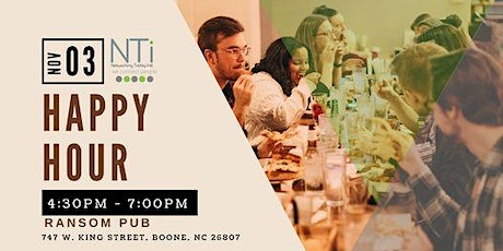 NTi High Country Connect invites you to HAPPY HOUR tickets