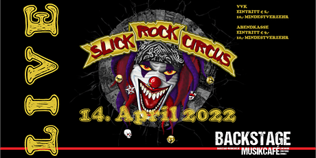 SLICK ROCK CIRCUS - LIVE Tickets