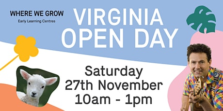 Where We Grow Virginia Open Day tickets