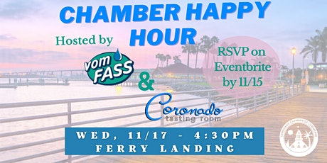 Coronado Chamber Networking Happy Hour tickets