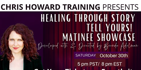 Healing through Story: Tell Yours! tickets