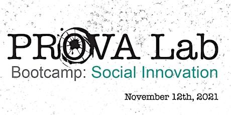 Social Innovation Bootcamp - November 2021 entradas