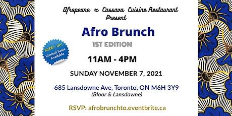 Afro Brunch tickets