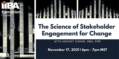 The Science of Stakeholder Engagement for Change tickets