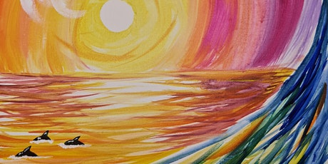 Paint and Sip - Evans Sunrise with Dolphins tickets
