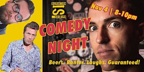 dISruption Comedy Night tickets