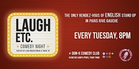 Laugh ETC Comedy  Night - Season 4 Ep. 02 billets