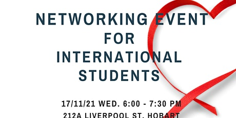 Networking Event for International Students tickets