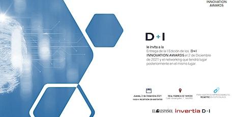 D+I Innovation Awards 2021 entradas