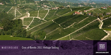 Great Wines of Italy Masterclass: The Crus of Barolo - 2011 Vintage Tasting tickets
