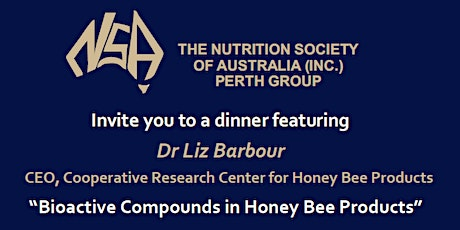 Nutrition Society of Australia Perth Group Dinner tickets