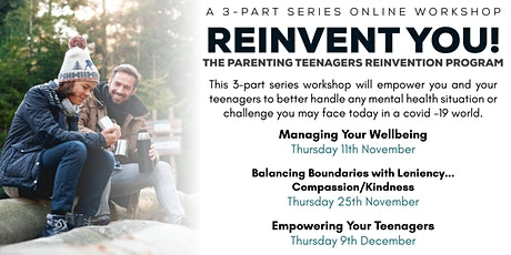 Reinvent You - Managing Your Wellbeing tickets