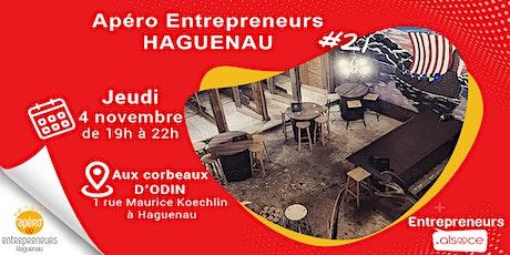 Apéro Entrepreneurs Haguenau  #21 billets