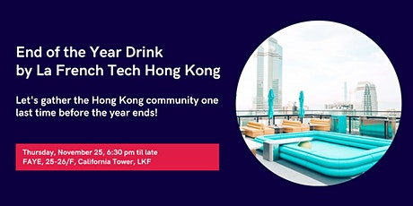 French Tech Connect - End of The Year Drink tickets
