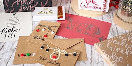 Handlettering und Brushlettering Workshop für Anfänger - Christmas Edition Tickets