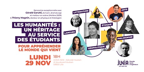 "Rencontre "" Les Humanités "" billets"