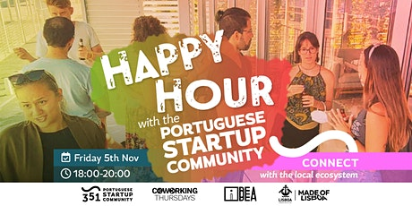 Happy Hour with The Portuguese Startup Community tickets