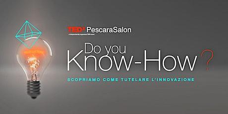 TEDxPescaraSalon DO YOU KNOW-HOW? biglietti
