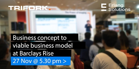 Business Concept to Viable Business Model in FinTech tickets