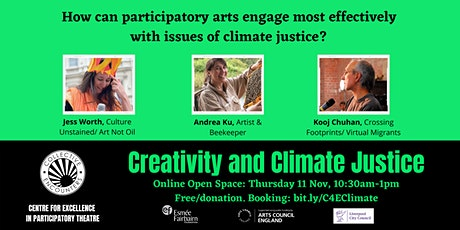 Creativity and Climate Justice: OPEN SPACE EVENT tickets